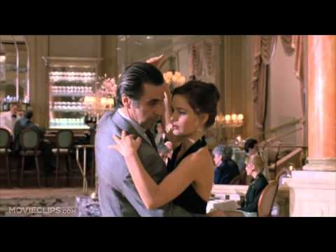 Al Pacino dances with Gabrielle Anwar to the tune of