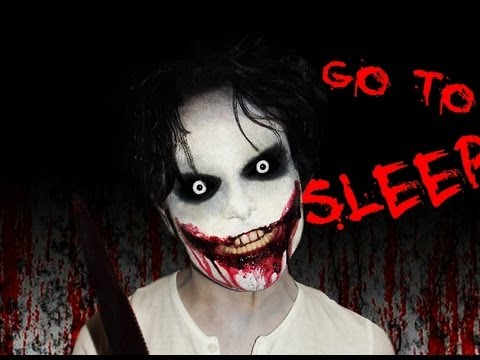 jeff the killer creepy pasta makeup tutorial go to