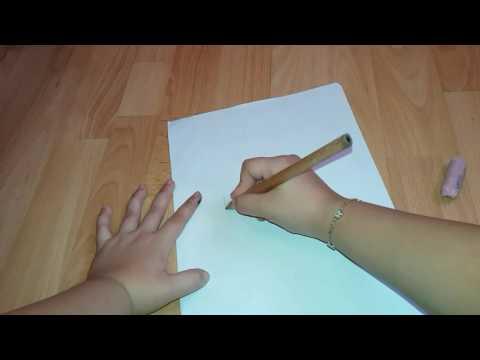 Cum sa desenezi un  portret animat in doar doua minunte?😘😙😍
