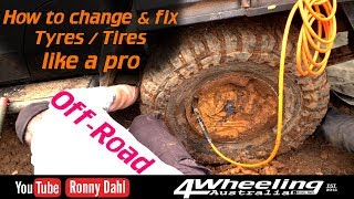 Change & fix tyres like a pro OFF-ROAD
