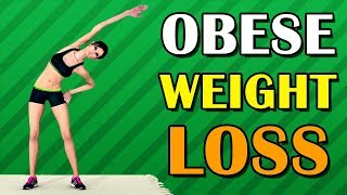 15 Min Obese Beginners Weight Loss Workout