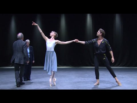 Manon in rehearsal (The Royal Ballet)