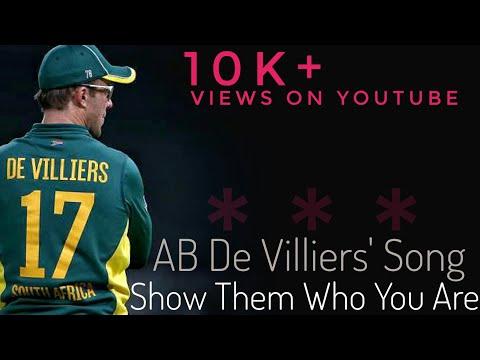 AB De Villiers song