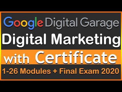 FULL COURSE | FUNDAMENTALS OF DIGITAL MARKETING | Digital Garage | with Certification | Alpha Gyan