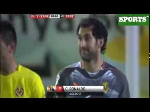 Goles que marcó Cristiano a Diego López con Villareal | Goals scored Cristiano to Diego Lopez