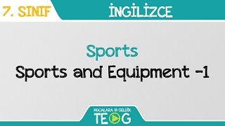 Sports - Sports and Equipment -1