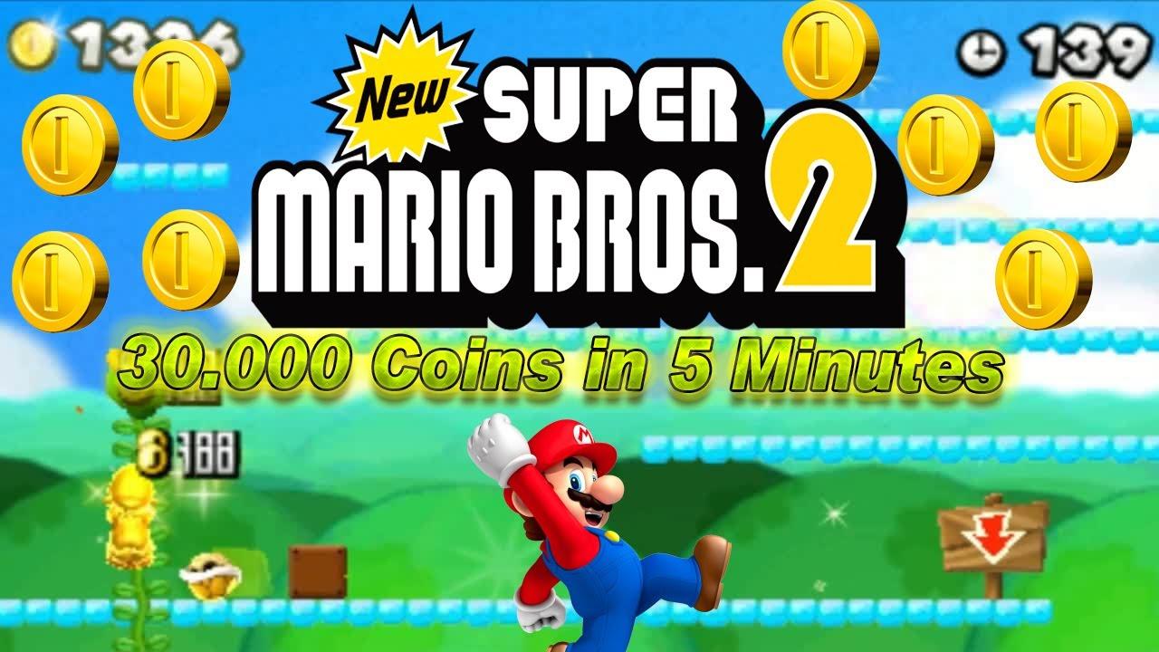 New Super Mario Bros 2 New Super Mario Bros 2 30000 Münzen In 5
