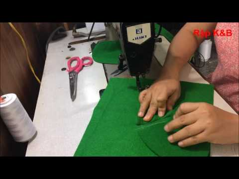 K&B Handmade Hướng Dẫn Cắt May áo Khoác 2 Lớp R156 - Rập Mua Chung