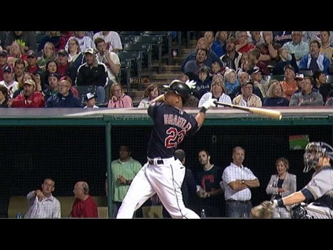 MIL@CLE: Brantley clubs two homers in win vs. Brewers