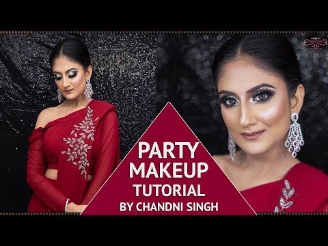 How To Do Party Makeup | Step By Step Makeup Tutorial | Party Glam | Chandni Singh