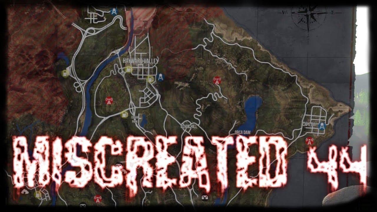 Miscreated Karte.Miscreated 44 Update 57 Vergrosserte Map Orca Island Let S Play German Deutsch