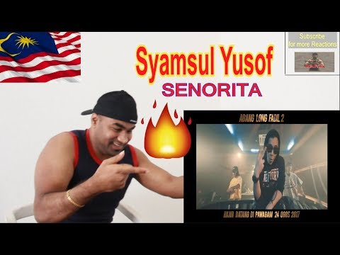 Syamsul Yusof & Dato' AC Mizal Feat. Shuib - SENORITA (OFFICIAL MUSIC VIDEO) |Reaction |Aalu Fries