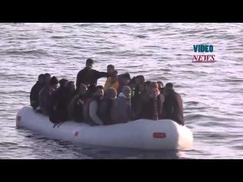 Turkish coast guards rescue 336 migrants in a week in Aegean Sea