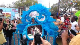 Super Sunday 2013 MardI Gras Indians