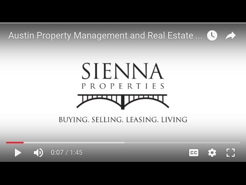 Austin Property Management and Real Estate Services