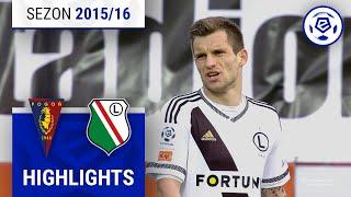 Pogoń Szczecin - Legia Warszawa 0:0 [skrót] sezon 2015/16 kolejka 30