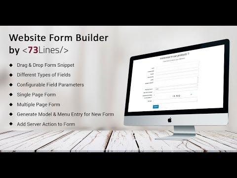 Odoo Website Form Builder By 73Lines