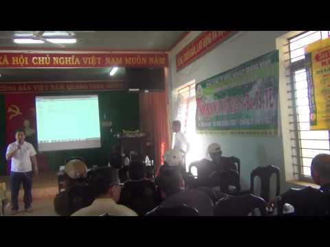 Hội thảo phân bón NPK Sao Việt tại Ea Tân - Krong Năng