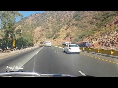 Salt Range - Kallar Kahar - M2 Motorway - Pakistan - HD
