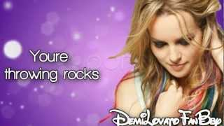 Bridgit Mendler - Rocks At My Window (Lyrics On Screen) HD