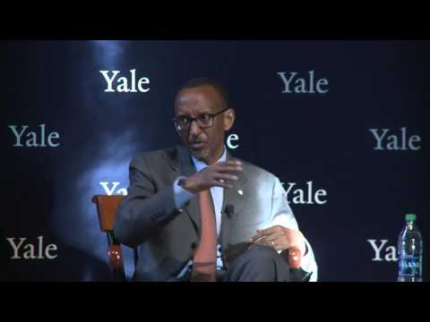 President Kagame delivers Yale Coca Cola World Fund Lecture | Connecticut, 20 Sept 2016 (Part 2/2)