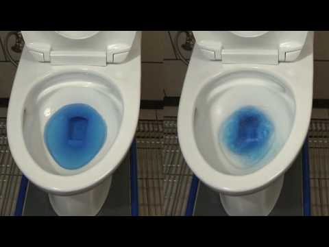 Toto Double Cyclone Flushing System