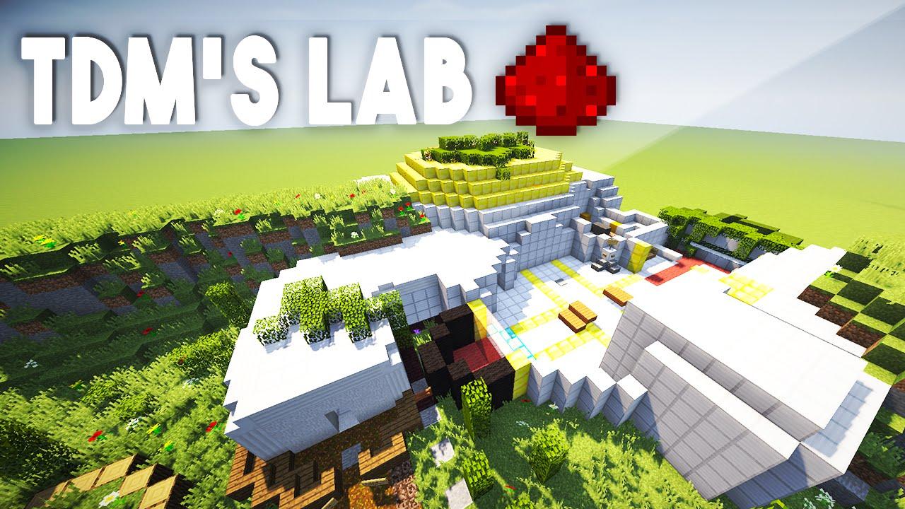 Thediamondminecart S Redstone Lab Fully Functional Minecraft