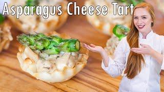 Asparagus Cheese Tarts