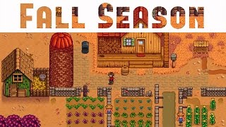 STARDEW VALLEY FALL: Animal Farming, Seasons & Relationship Guide (Stardew Valley Gameplay #4)