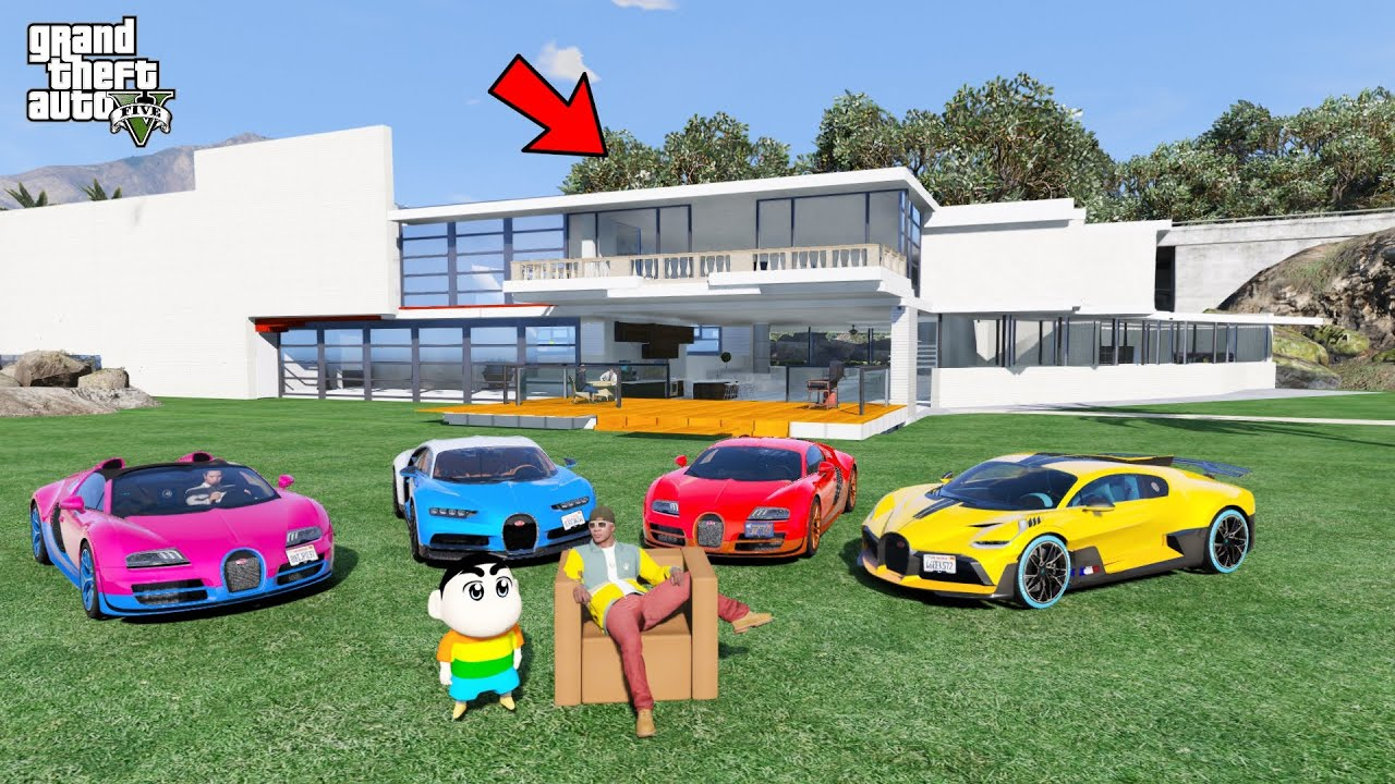 Shinchan And Franklin Became Richest President Of Los Santos In GTA 5