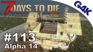 7 Days To Die   Sniper Tower Plans   7 Days to Die Gameplay Alpha 14   S06E76