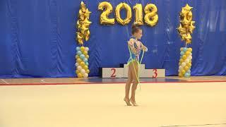 видео Скакалка для художественной гимнастики Грация-Спорт. мод.2