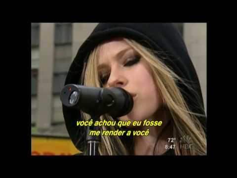 Avril Lavigne - Don't Tell Me (Live Rockefeller Plaza NY 2004) (Legendado)