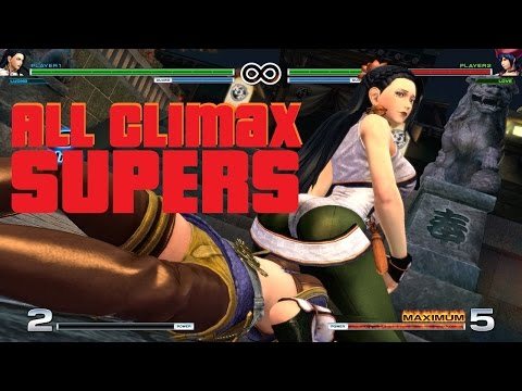 The King Of Fighters 14 All Climax Super Special Moves (Male/Female)