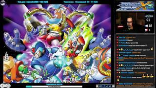Rockman X3  Mega Man X3 прохождение 100 U Игра на SNES 16 Bit PS Saturn PC 1995 Стрим RUS