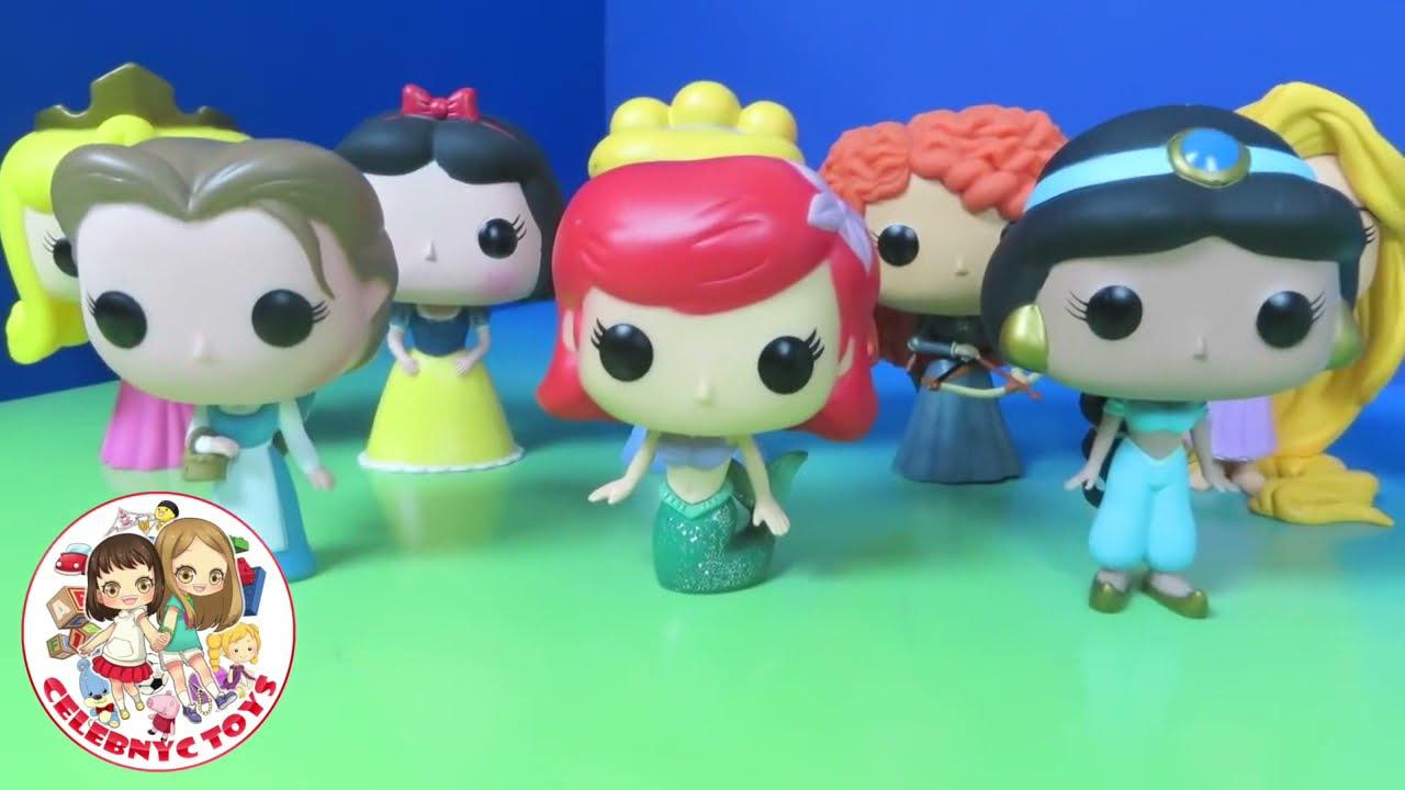 Disney Princess Funko Pop Unboxing Toy Review Aurora ...