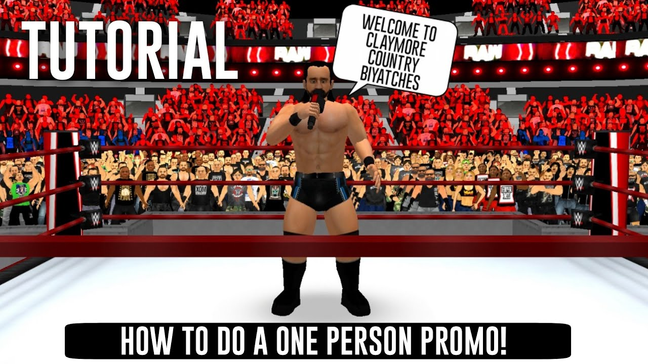 Download How to do a one person Promo in WR3D! WR3D 2K21