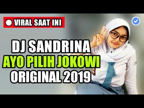 DJ AYO PILIH JOKOWI (SANDRINA) TERBARU 2019 ♬ LAGU DJ TERBARU TIK TOK ORIGINAL REMIX 2K19