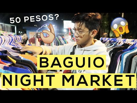 Baguio Night Market | Ukay-Ukay and Street Food