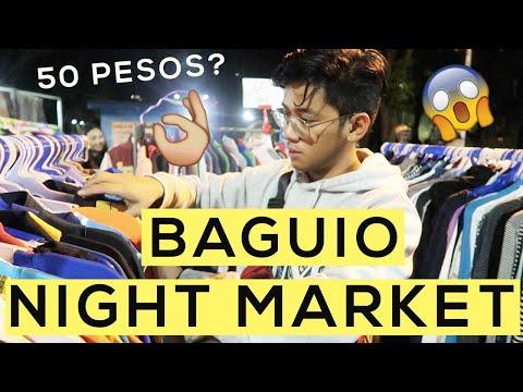 Baguio Night Market | Ukay-Ukay and Street Food