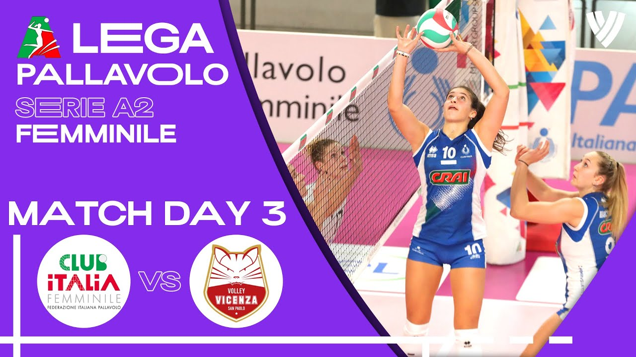 Download LIVE 🔴 Club Italia vs. Anthea Vicenza - Women's Serie A2 | 2021
