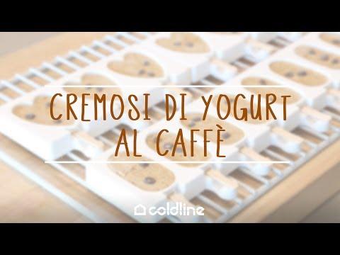 Cremosi di yogurt al caffè con l'abbattitore LIFE