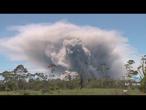 Massive ash plume at Kilauea's Halemaumau Crater was not 'the big one,' scientists say
