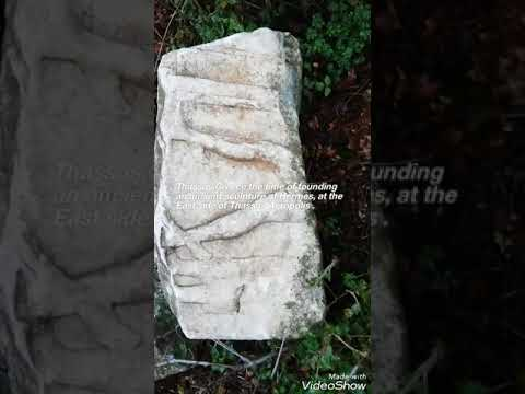 Ancient sculpture found in thassos(greece)