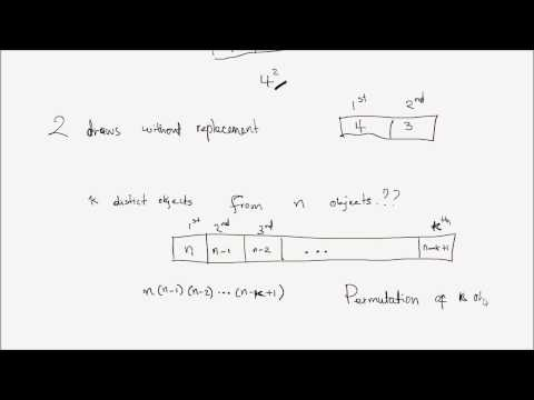 Probability Lesson 4 Part 1: Counting Techniques
