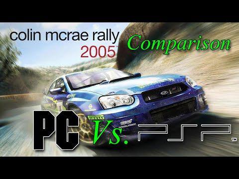 Colin McRae Rally 2005 Comparison (PC Vs. PSP) (1080p/60FPS)