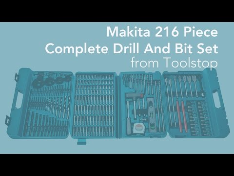 Makita 216 Piece Complete Drill And Bit Set from Toolstop