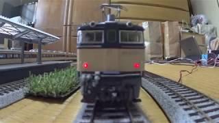 【HOゲージ鉄道模型】碓氷と湘南色とロクサンの。(EF63+なんちゃって169系)