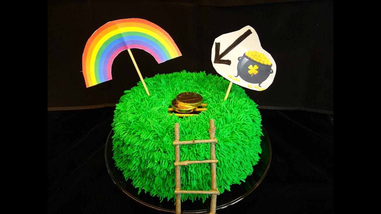 leprechaun trap cake with yoyomax12 youtube