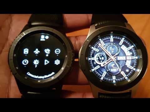 Samsung Galaxy Watch vs Gear S3 - Nov 2018 update